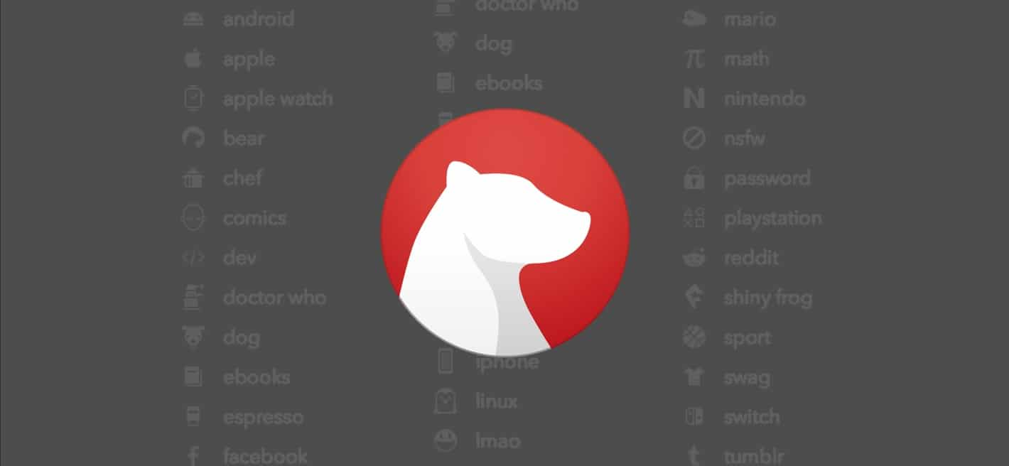 Bear TagCons -- tag icons